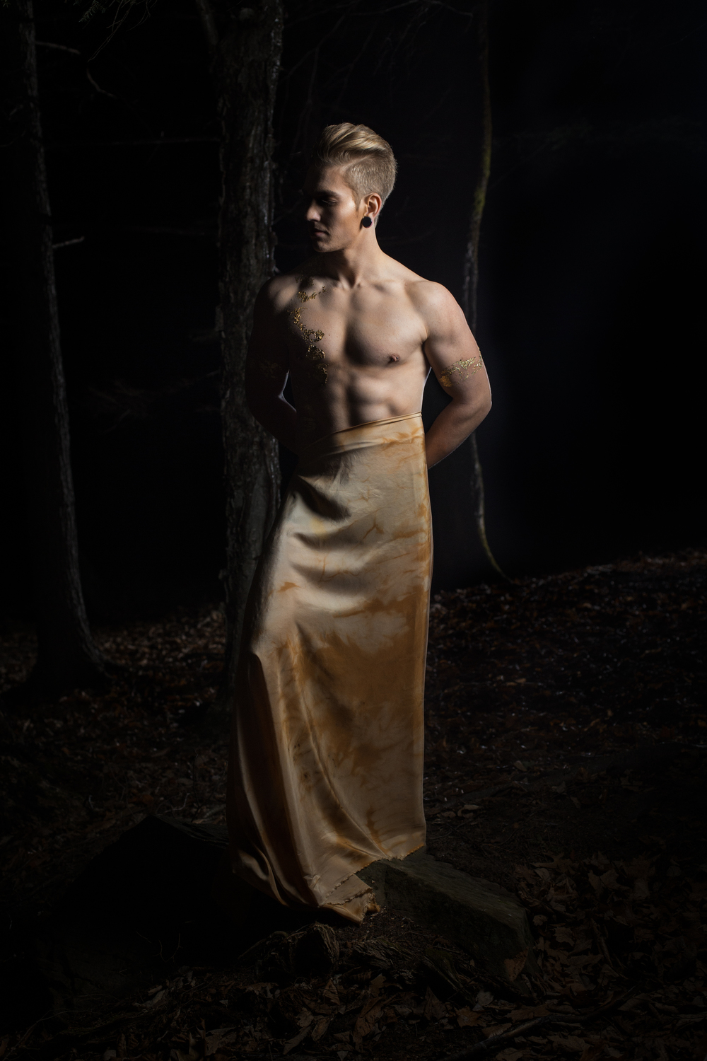 Photography: Lance Kenneth Blakney l Model: Jake Clark l Hair and MUA: Billy Peterson l Surface Design/Producer: Dee Wilkie