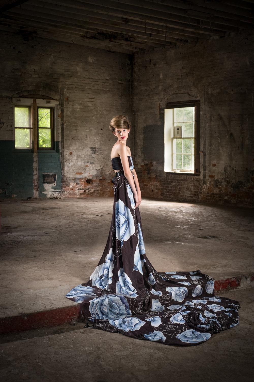 Photography:  Lance Kenneth Blakney  l Model:  Athenais Testi  l Hair/MUA:  Amy Barter  l Silk/Styling:  Dee Silkie
