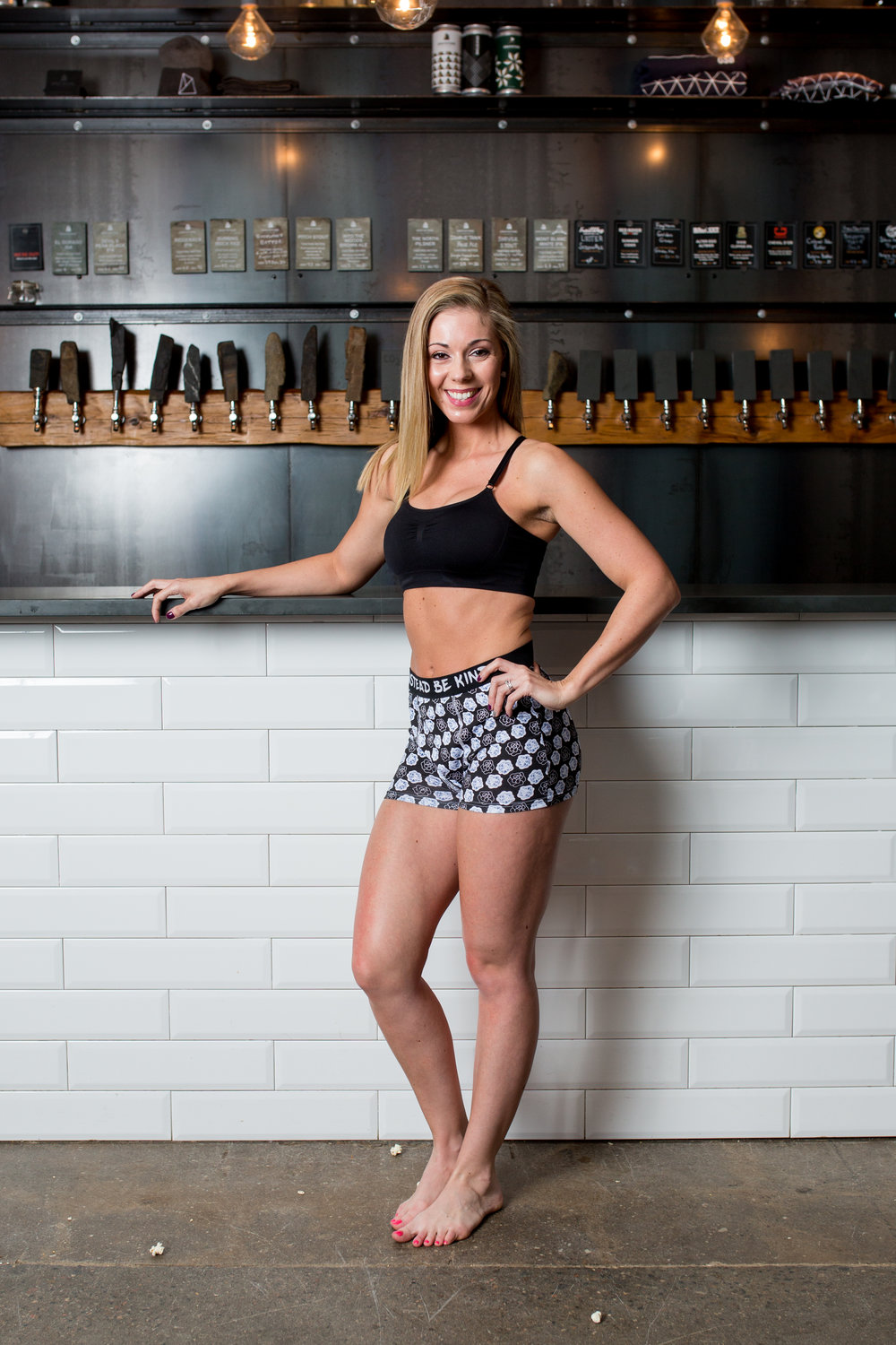 Photography: Mag Hood l Kindness Model: Amanda Brown l Location: Graystone Brewing Styling/Boxers: Dee Silkie
