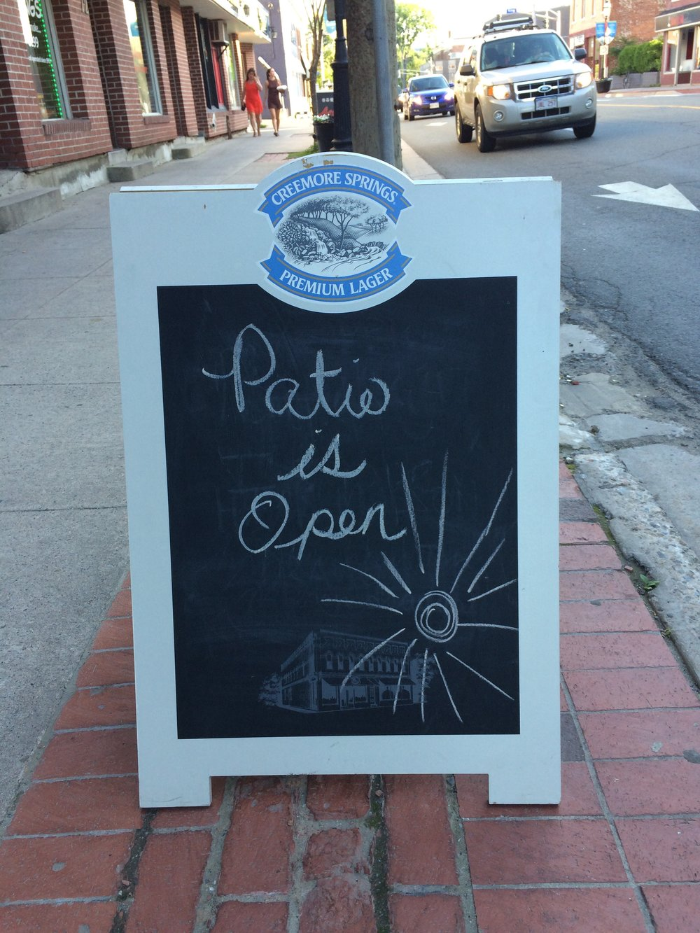 Patio Open!