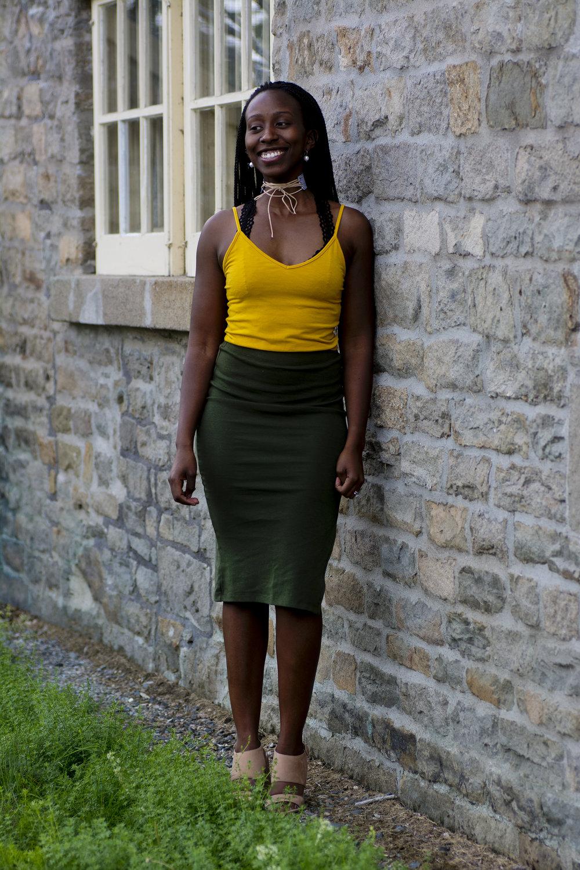 Photography:  Nathanael Patriquin  l Model:  Amaki Otuteye  l Choker:  Adrienne Goodine  l Silk/Styling:  Dee Silkie