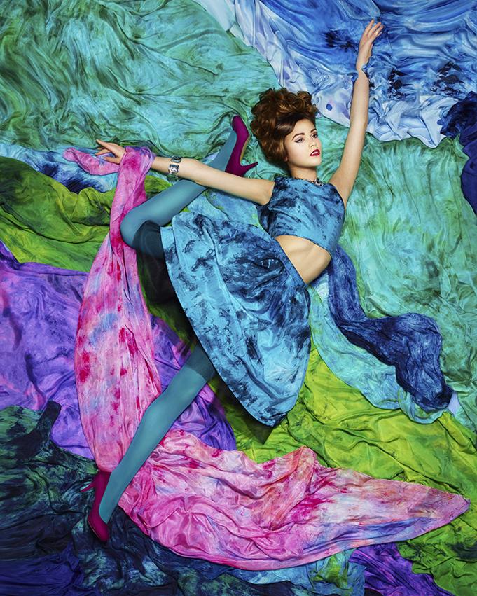 BURDEKIN – Photography: Brent McCombs Model: Katie McDonald  (City Models)Fashion Design: Adrienne Goodine  Hair: Tanya Ozolins MUA: Elizabeth Anne Stylist/Assistant: Sara Calhoun  Silk/Styling: Dee Wilkie