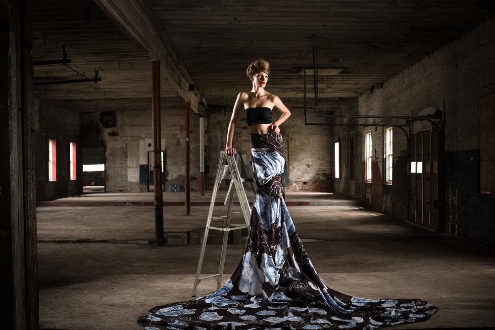 Photography: Lance Kenneth Blakney l Model: Athenais Testi l Hair: Amy Barter l Silk/Styling: Dee Silkie