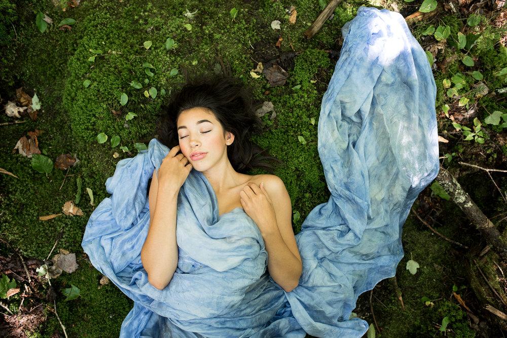 Photography: Stephanie Lane l Model: Maya Nowlan l Silk/Styling: Dee Silkie