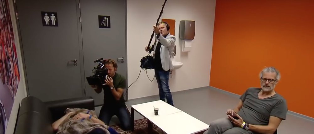 David Vaessen (camera)  Marcel Adriaans (geluid R.I.P)   Richard Valk (Regie)