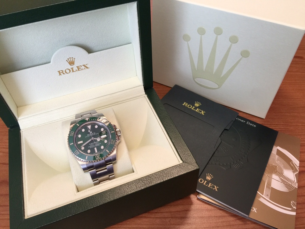 "Rolex Submariner 50th Anniversary, also known as ""The Hulk"""