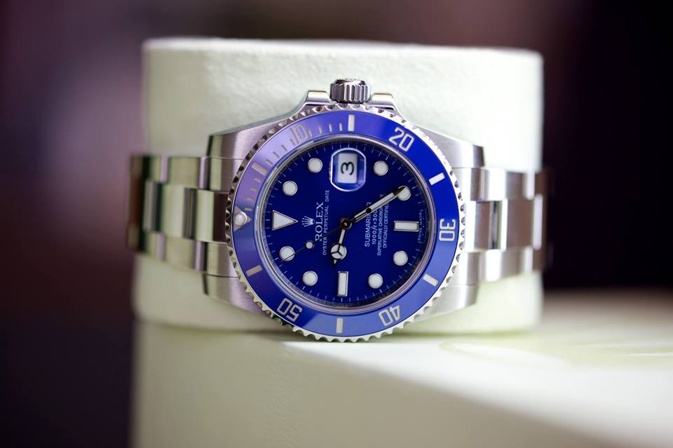 Rolex, White Gold Submariner (purchased a week ago from a wonderful client)