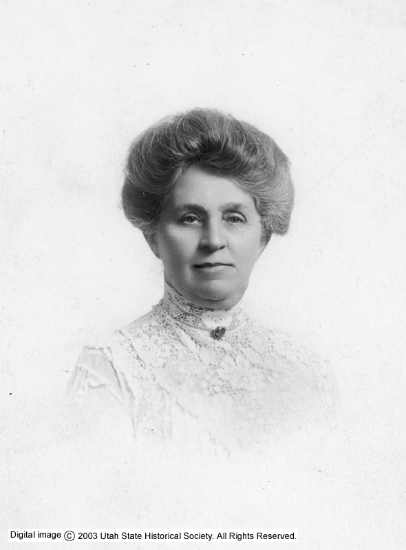 Seraph Young Ford, c. 1916. Photo courtesy of the Utah State Historical Society.