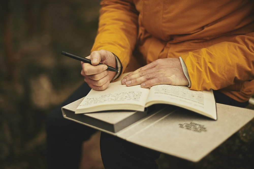 Take 5 minutes to journal in the morning