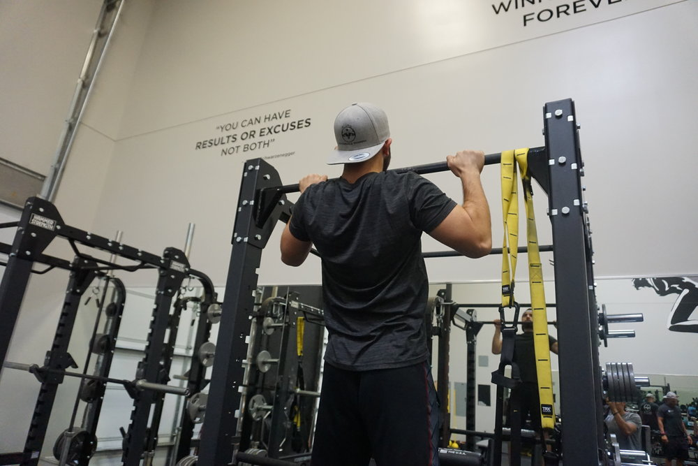 Pull ups are a great compound exercise