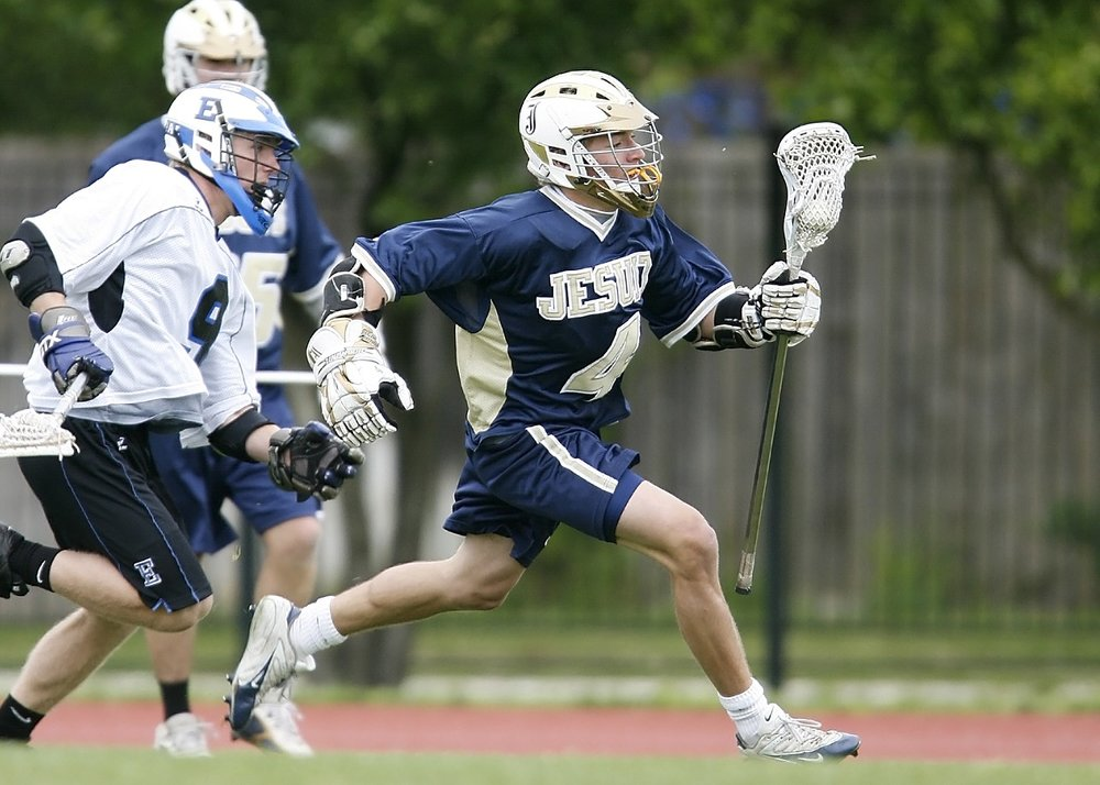 Sports like lacrosse are emerging as popular secondary sports
