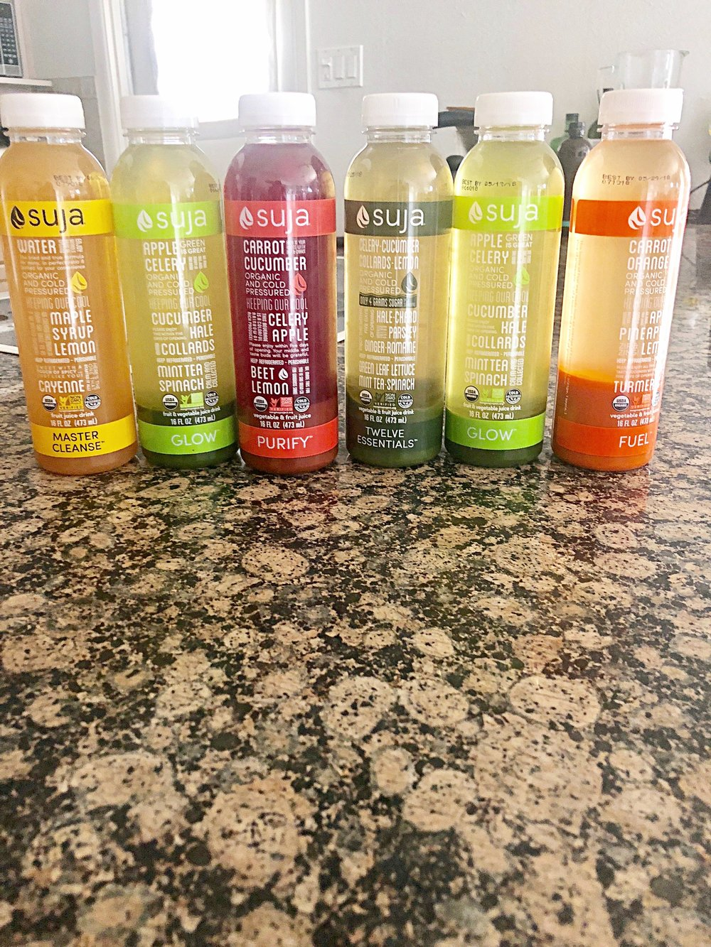 3 Day Cleanse from Suja