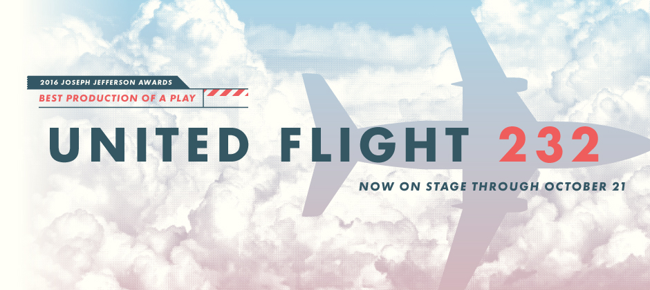 Award winning play United Flight 232 returns to the stage from September 1 to October 21