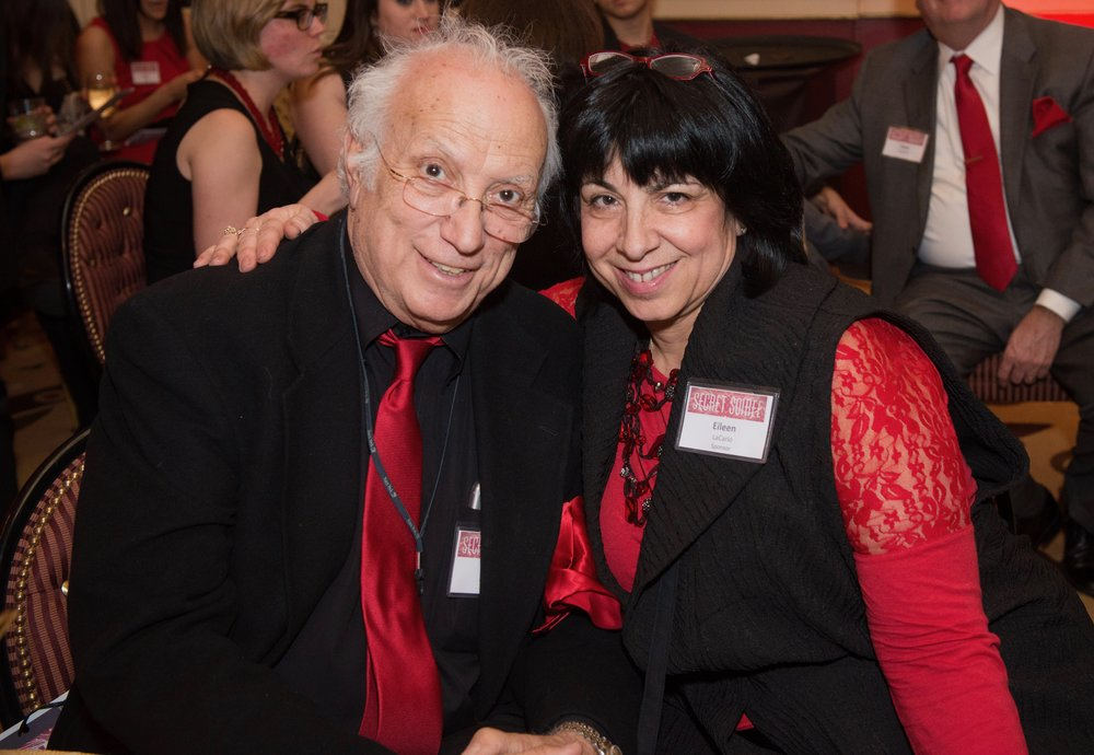 Eileen and Tony at the Secret Soiree in 2015. Photo by Peter Thomson.