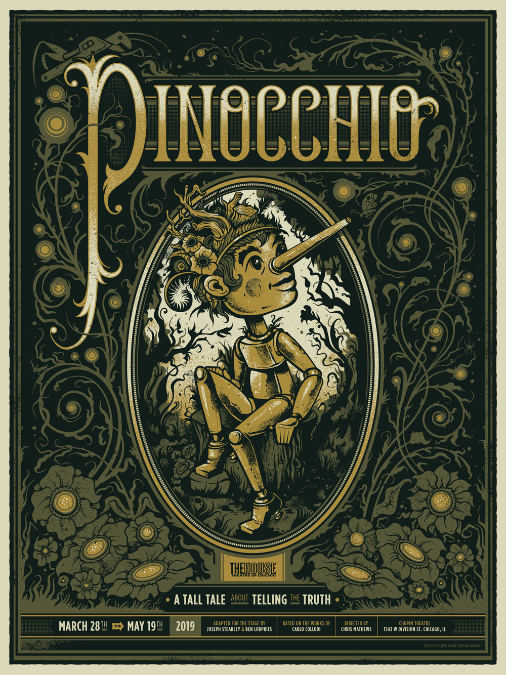 Pinocchio World Premiere Play Musical