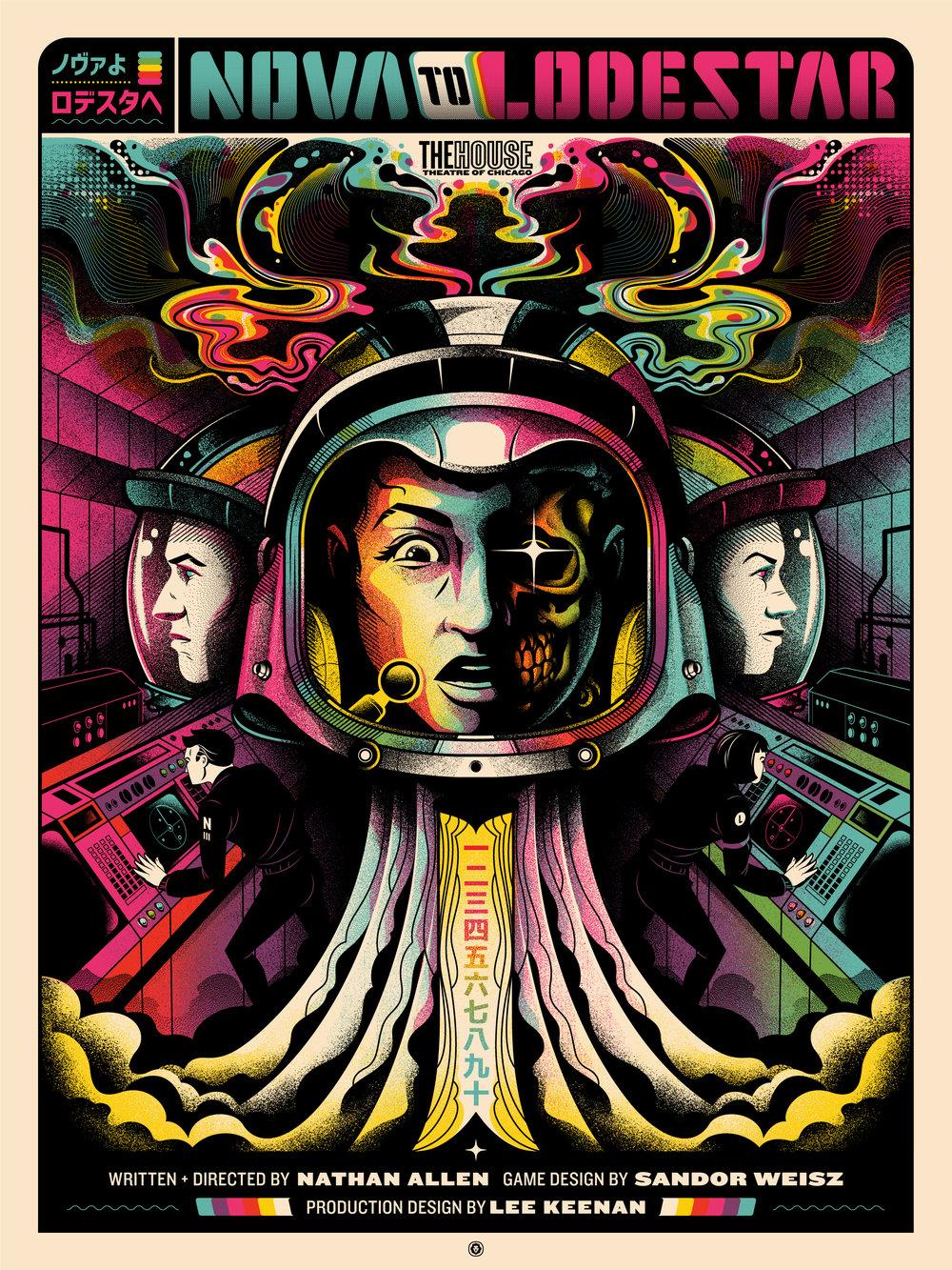 Nova to Lodestar poster live-action game