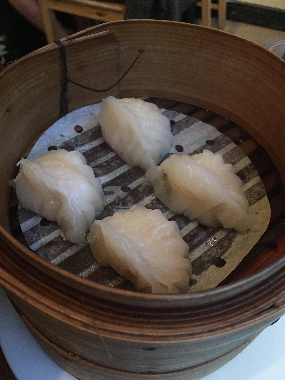 Har Gau aka prawn dumplings (£3.25)