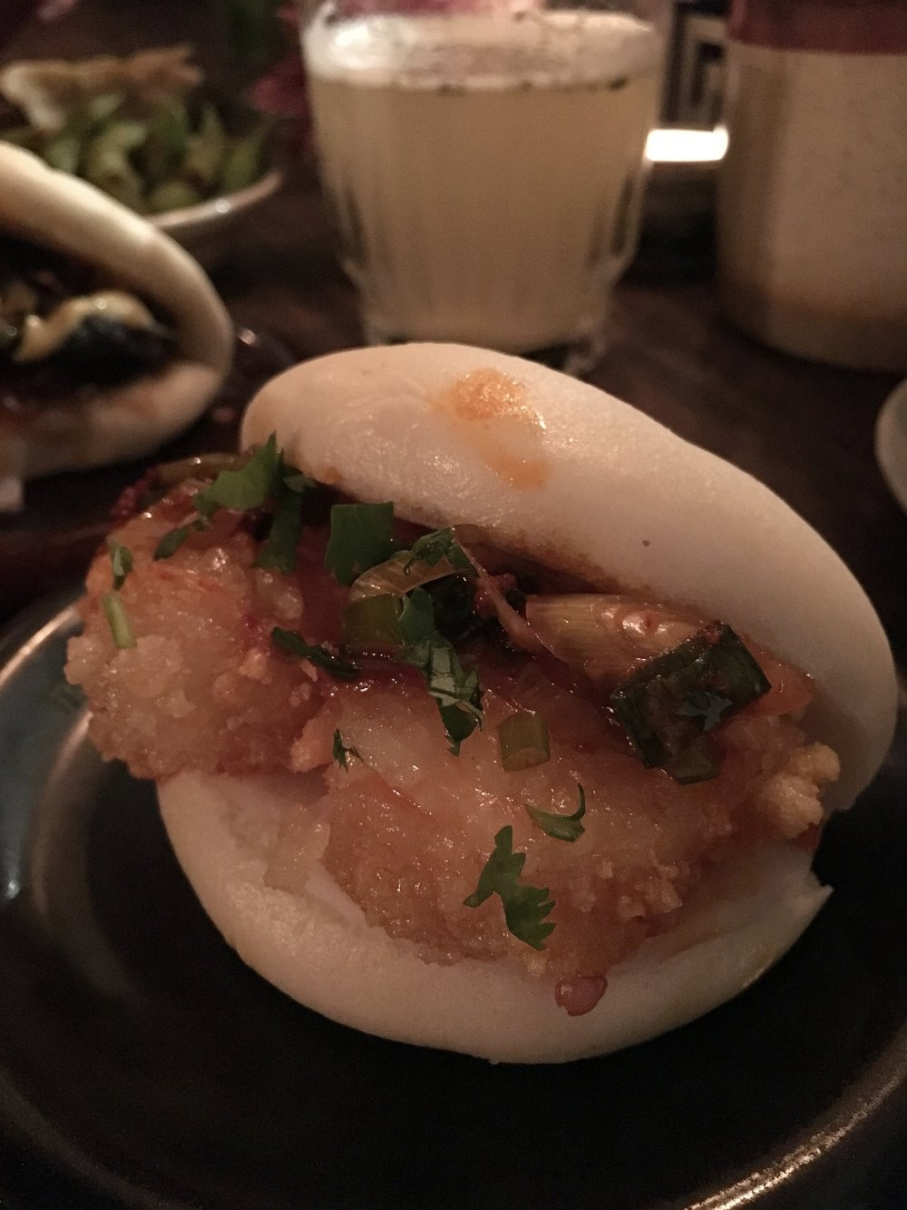 Prawn Bao steamed bun £4.50