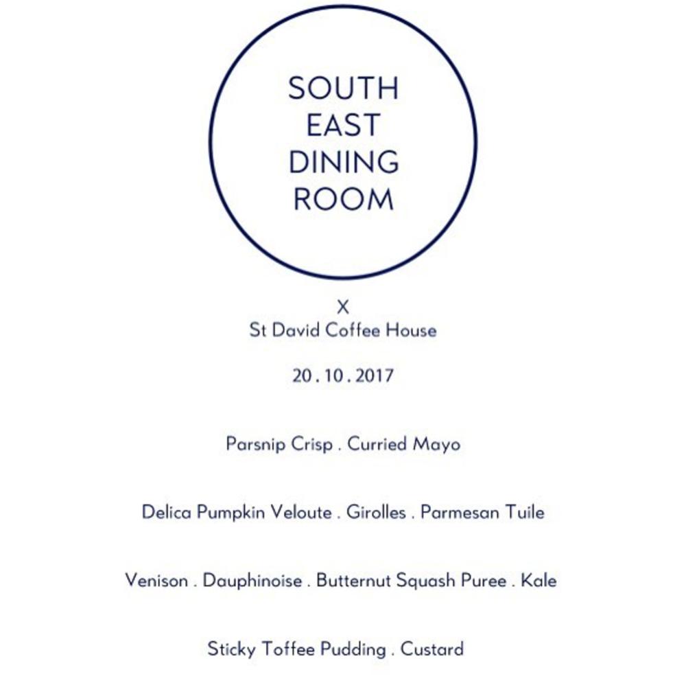 South east dining club Supper club