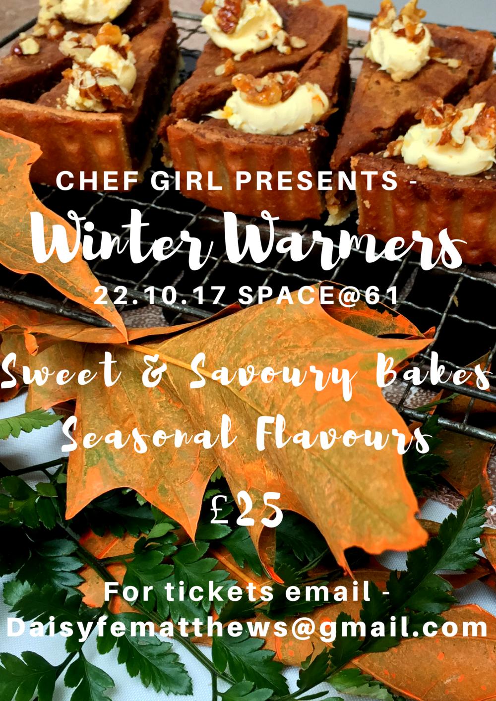 Chef Girl event in Nunhead