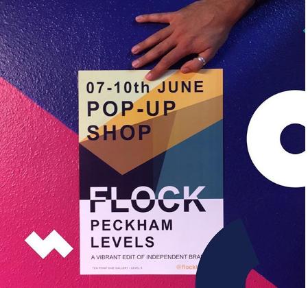 Pop up store Flock, Peckham