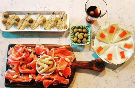 The new bar El Velmut will offer cold tapas as part of its menu. Image; @elvermut_london