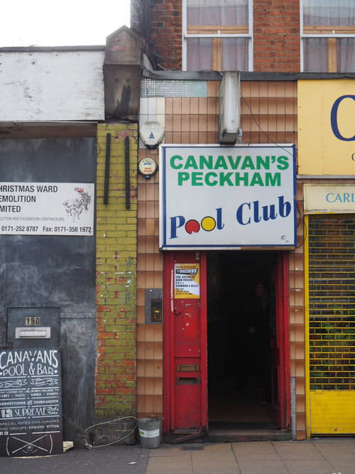Canavan's pool club Peckham