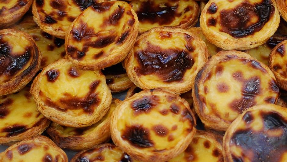 Portuguese tarts at Napura