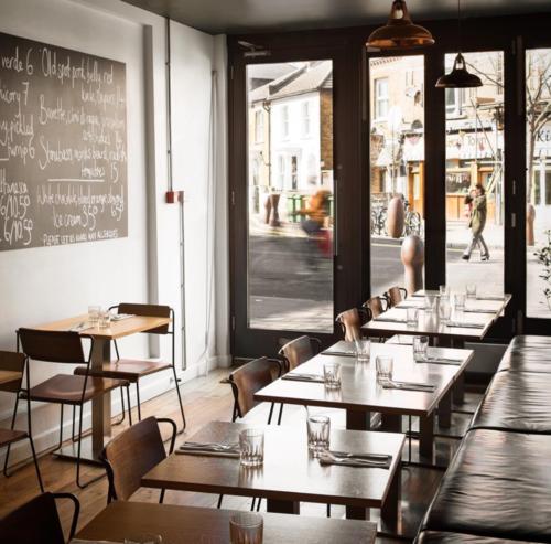 Artusi-Italian inspired restaurant in Peckham. Image;@artusipeckham