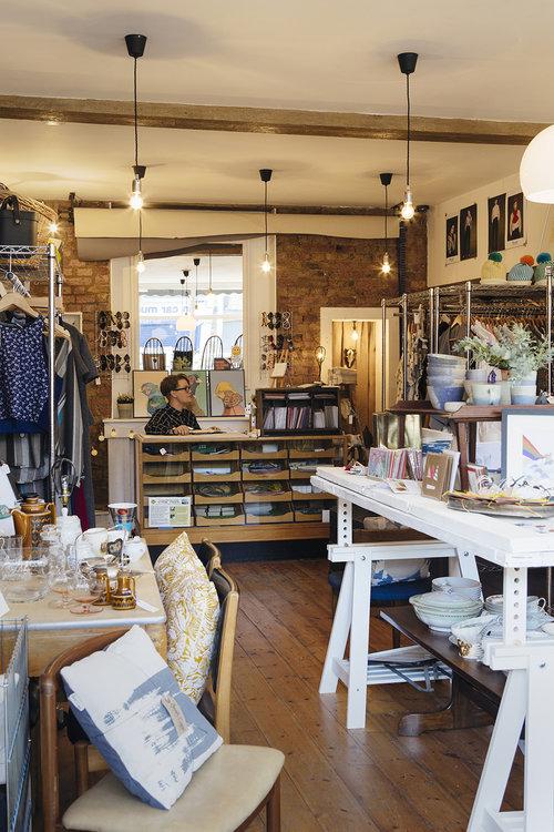 Lots of vintage treasures including clothing & homeware. Image;  http://www.annaandtam.com