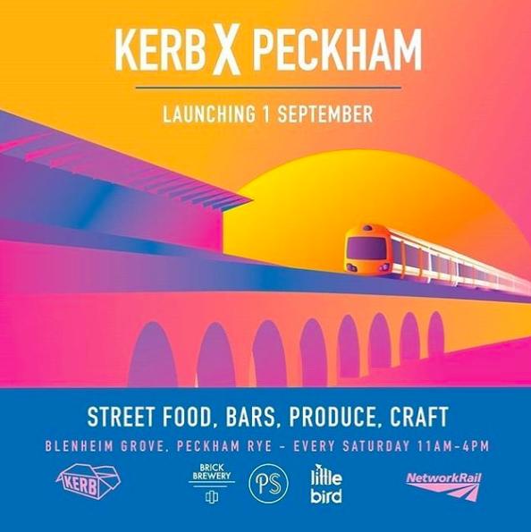 Kerb X Peckham, a new food market comes to Peckham Rye