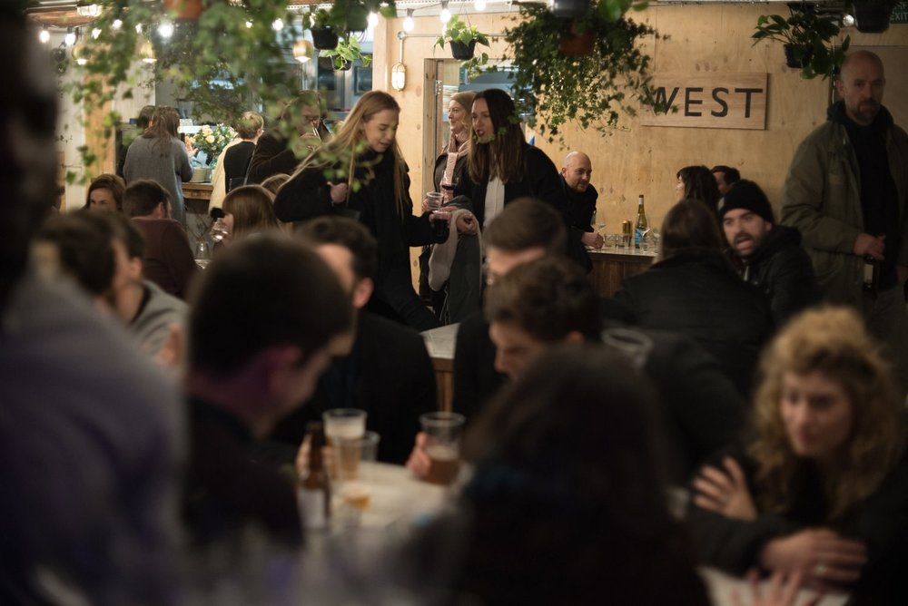 West Wine Kitchen, Peckham Levels. Image: http://westwinekitchen.com/