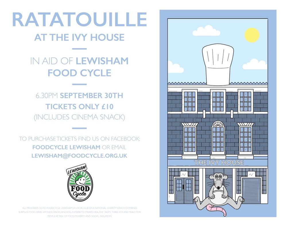 Film night fundraiser at The Ivy House in Nunhead