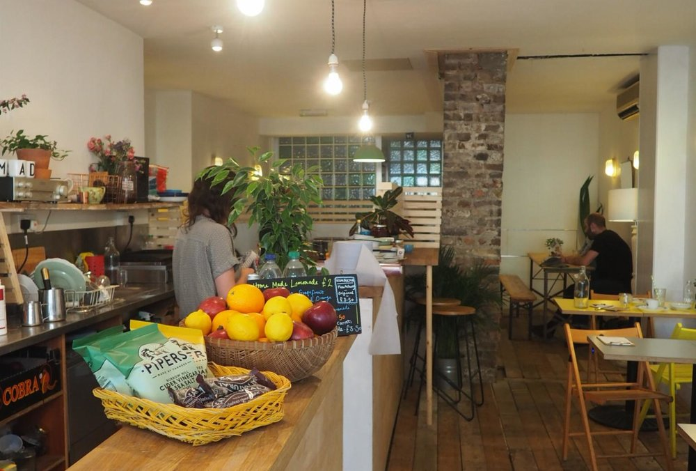 The new Peckham cafe; One and All. Image; SouthEast15