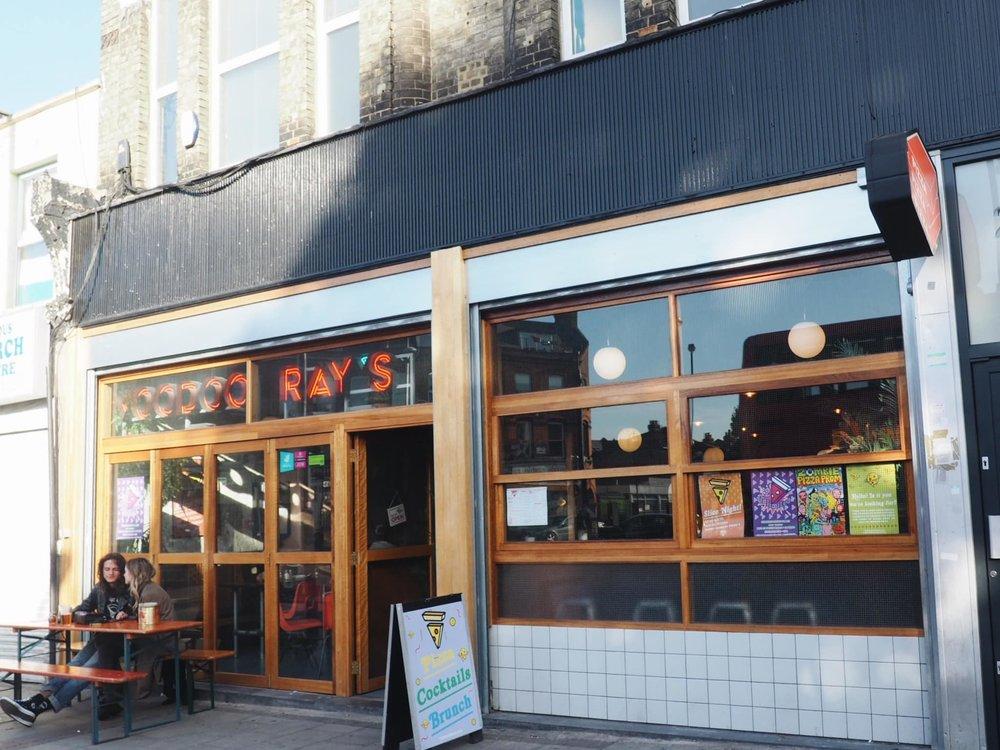 Voodoo Ray's Peckham pizzeria. Image credit: SouthEast15
