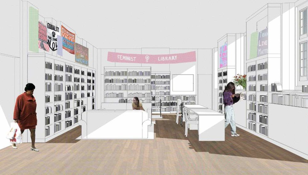 The Feminist Library in London is looking to move to Peckham