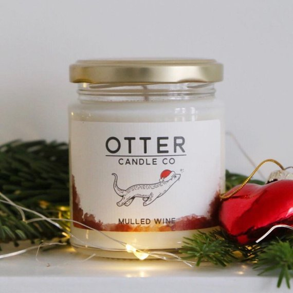 Festive scents; Mulled wine candle!