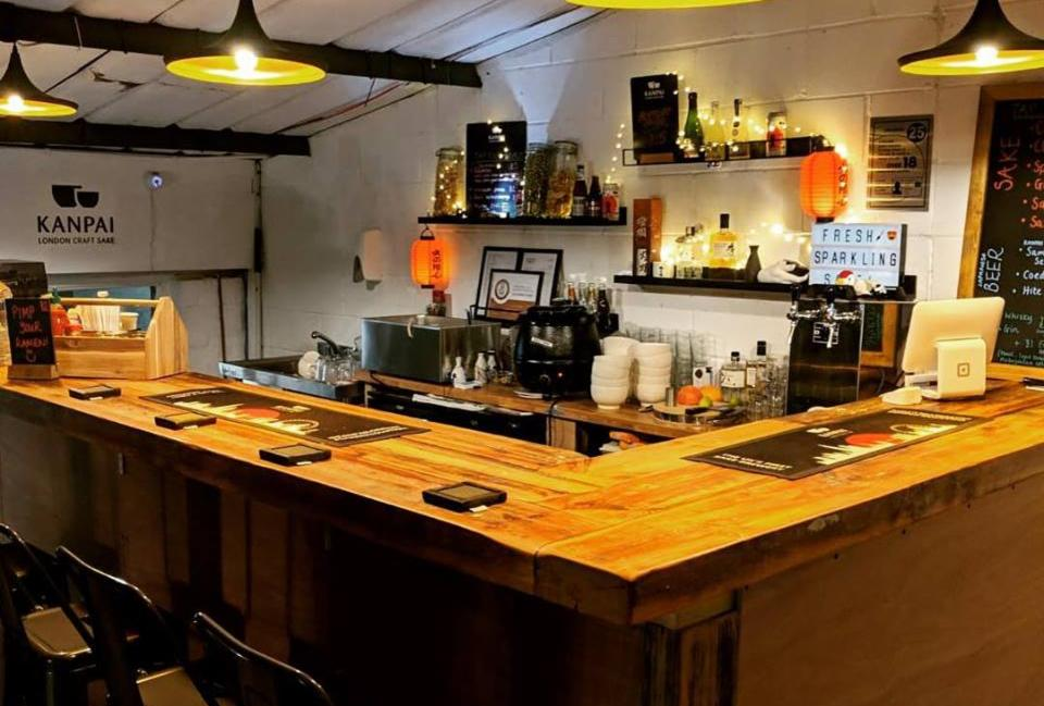 The new Kanpai tap room in Peckham