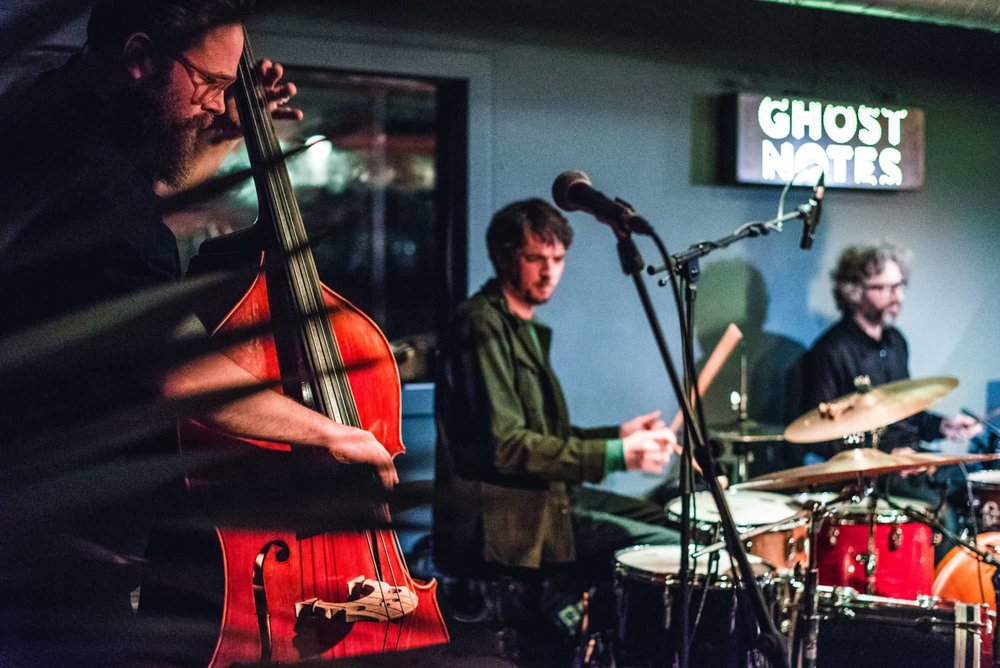 Ghost Notes music at Peckham Levels