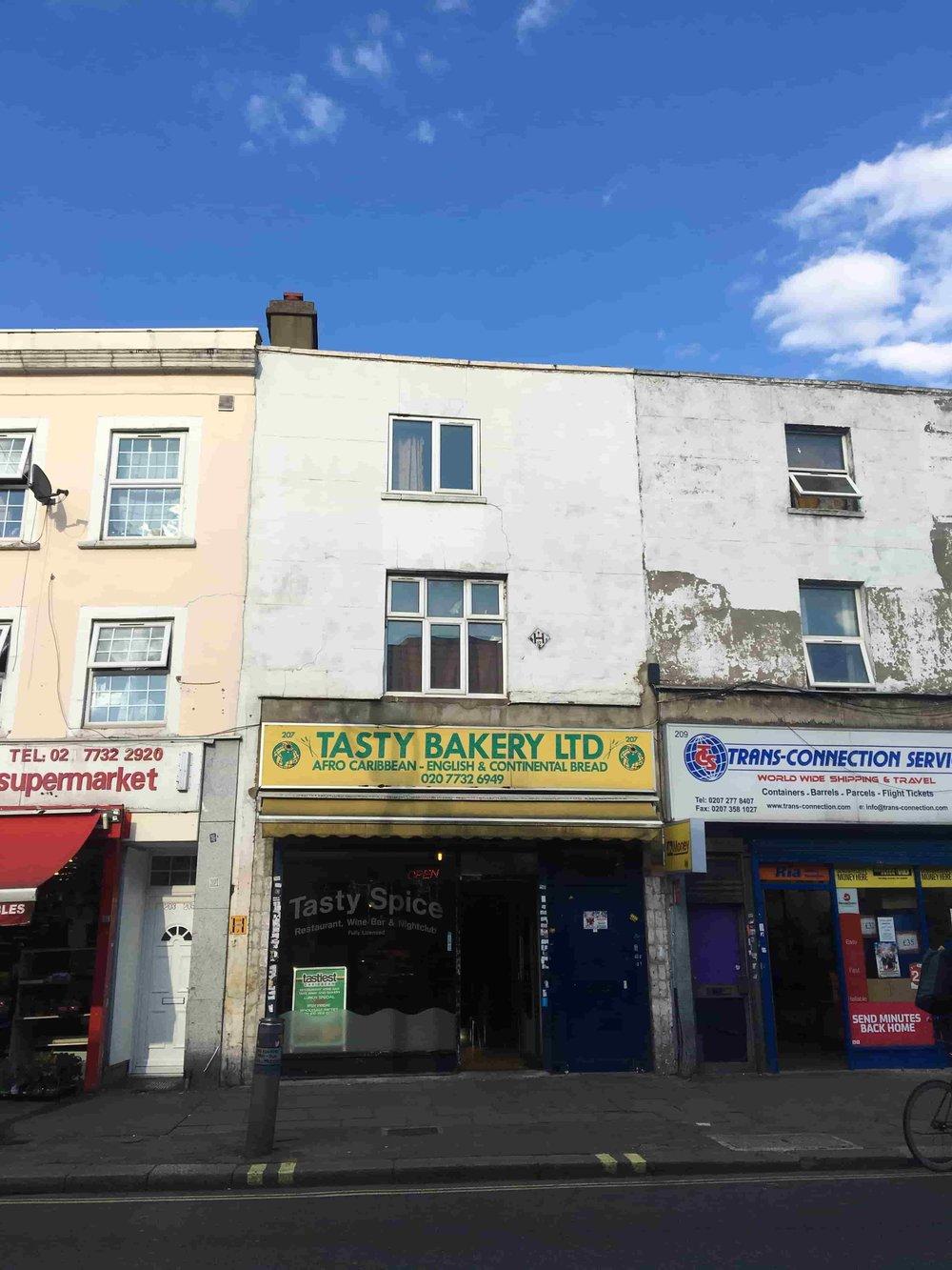 Secret Peckham bar: Tasty Bakery. Image: Southeast15.com