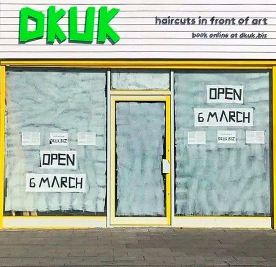 DKUK hair salon moves to a new location in Peckham