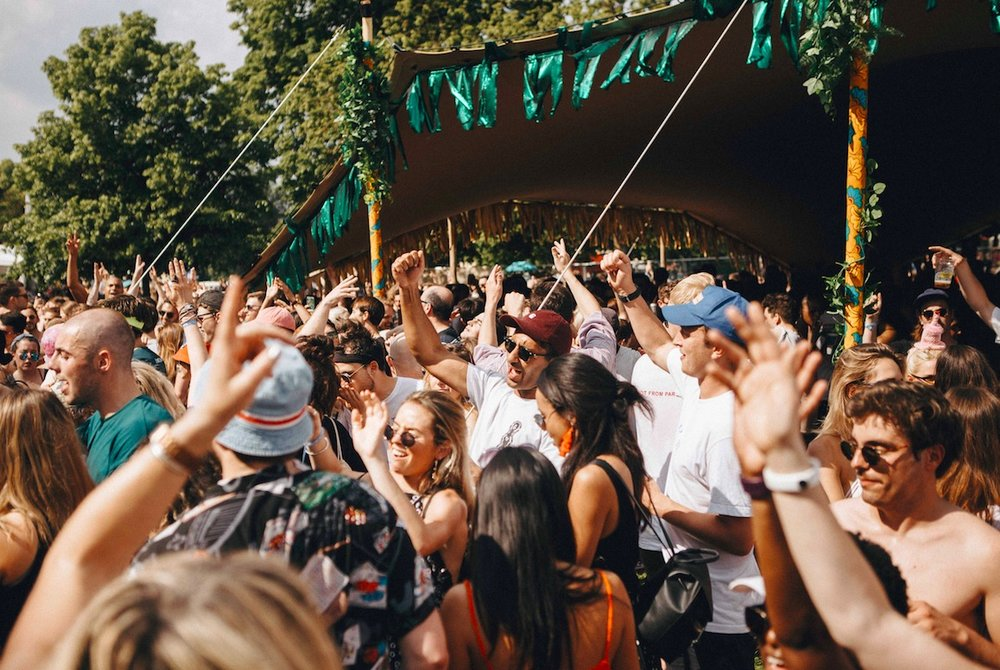 Gala festival Peckham Rye Park. Image credit Gala