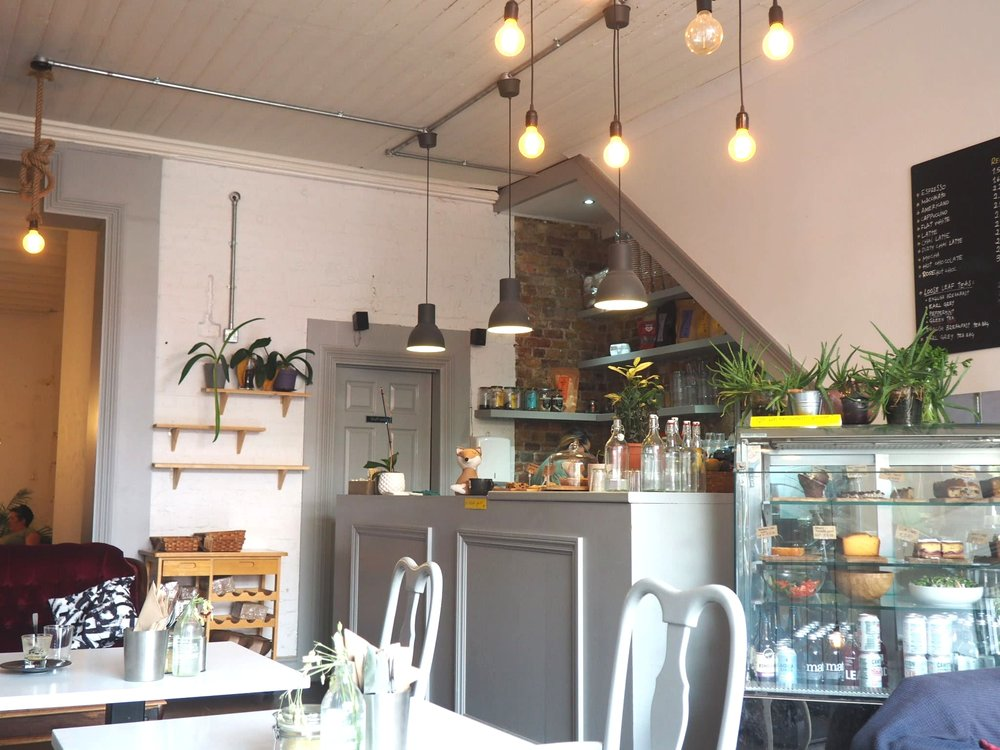 2 Girl's cafe in Peckham. Image: SouthEast15