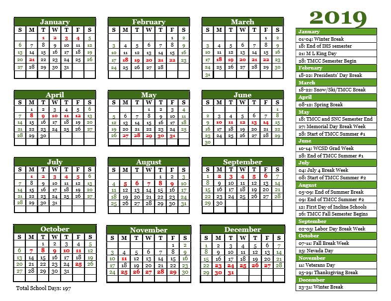 Click image for master calendar