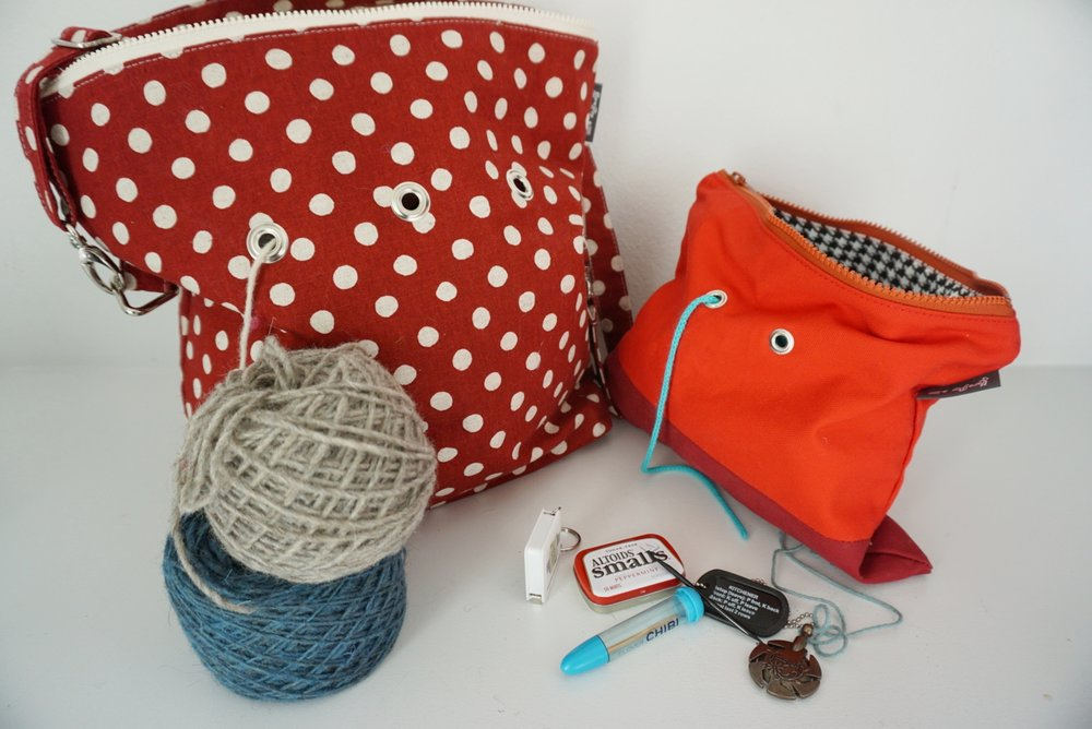 Getting ready for a big trip? Pack yarn and a few key tools.