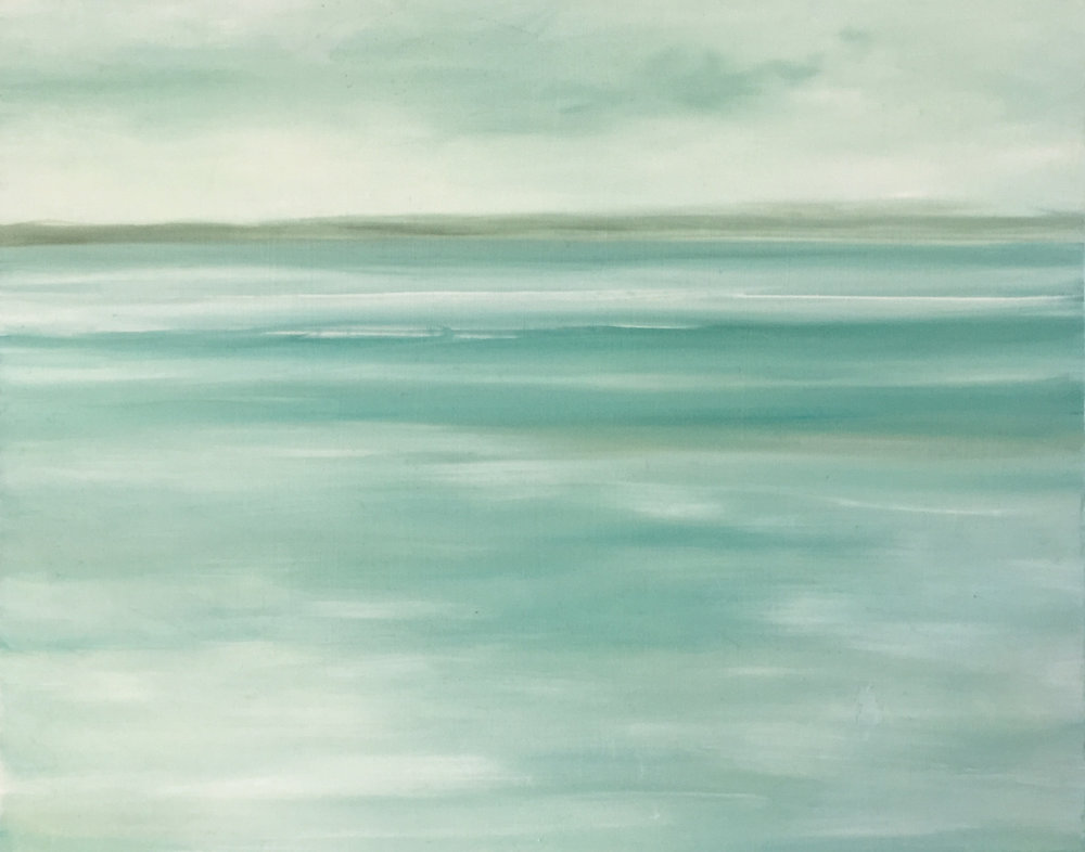 """Pale Blue Low Tide"""