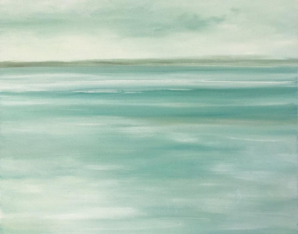 Pale Blue Low Tide