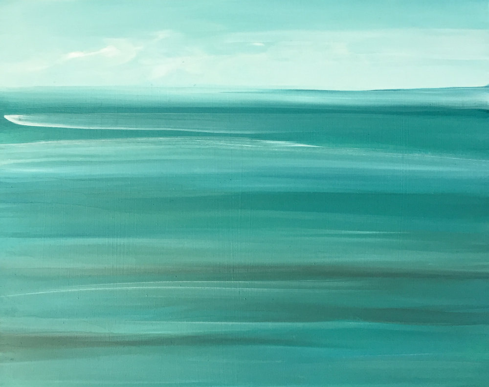 """Sea Green Low Tide"""