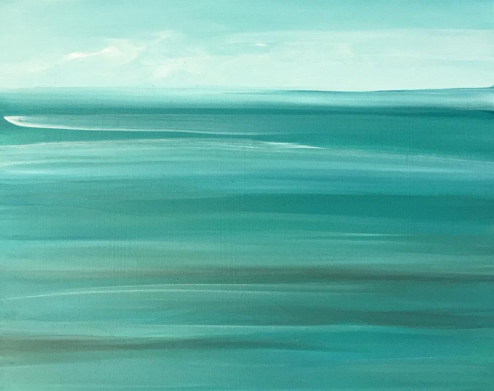 Sea Green Low Tide