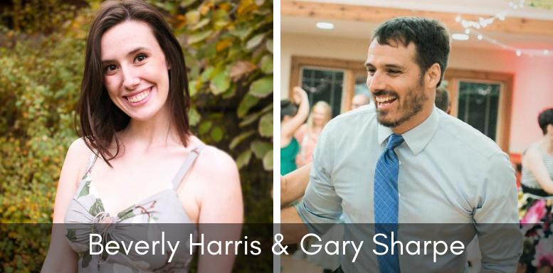 Teacher Banner  - Beverly Harris & Gary Sharpe